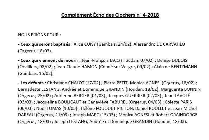Complément EC n°4-2018