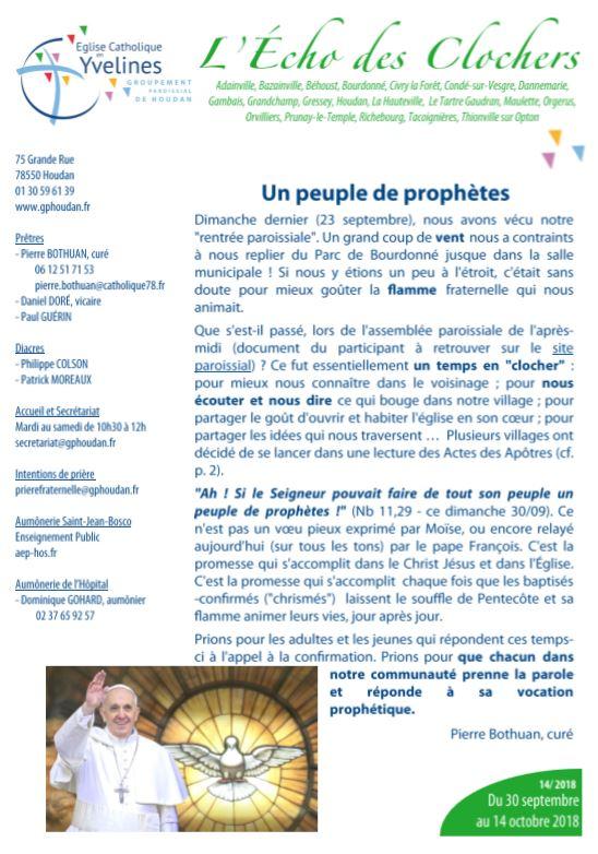 Un peuple de prophètes