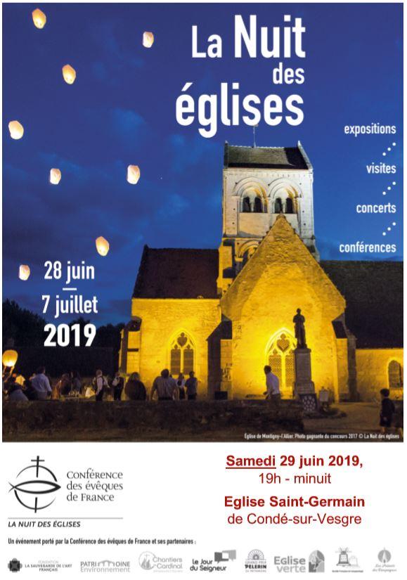 Samedi 29 juin à Condé sur Vesgre