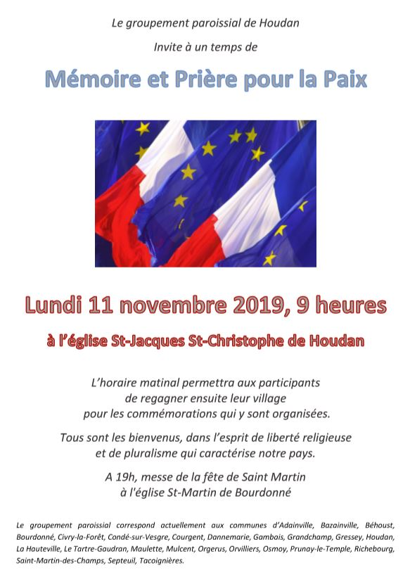 11 novembre à Houdan