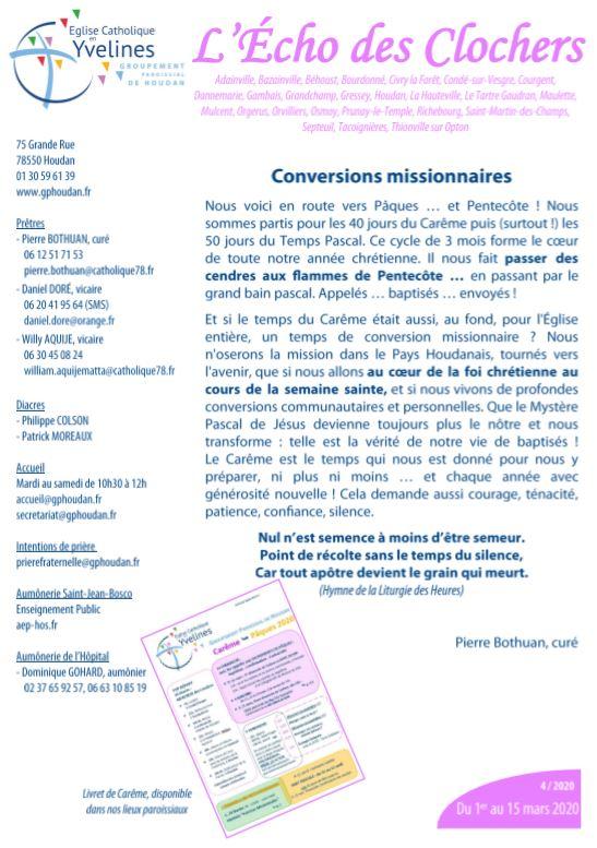 Conversions missionnaires